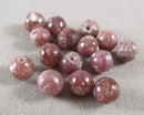 Lepidolite Loose Beads Round Various Sizes