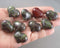 Dragon Blood Jasper Stone Heart 1pc (1186)