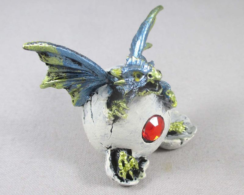 Blue Baby Dragon Hatching Egg 1pc T759