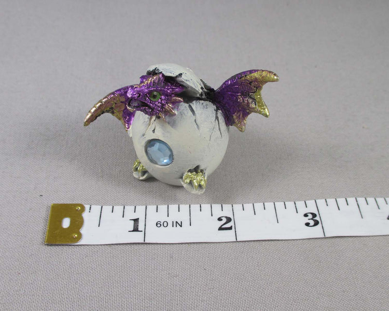 Purple Baby Dragon Hatching Egg 1pc T762