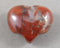 brecciated red jasper heart