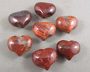 Brecciated Red Jasper Heart 1pc (1364)