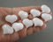White Quartz Heart 1pc (1355)