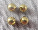 Round Brass Spacer Beads 3mm 100pcs (0692*)