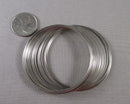 Memory Wire Silver Tone (30 Circles) 1pc (2079)