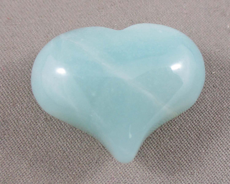 Amazonite Heart 1pc (1156)