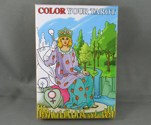 color your own tarot deck