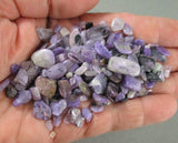 Charoite Stone Chips (Undrilled) 55 grams T605