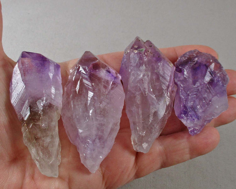 Amethyst Crystal Point Raw (Large) 1pc T574*