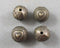 Antique Bronze Tone Round Heart Spacer Beads 10mm 8pcs (0568)