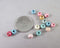 Mixed Pastel Colors Wood Beads 6mm Round 200pcs (1559)