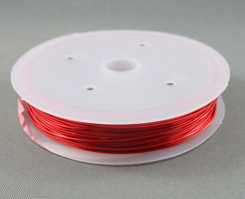 Enamel Coated Copper Wire 22ga (0.6mm) Various Colors