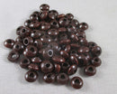 Brown Wood Beads 8x3.5mm Flat Round 150pcs (2274)