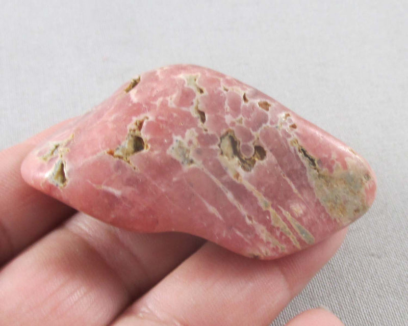 Pink Rhodochrosite Polished Stone 1pc B326-2