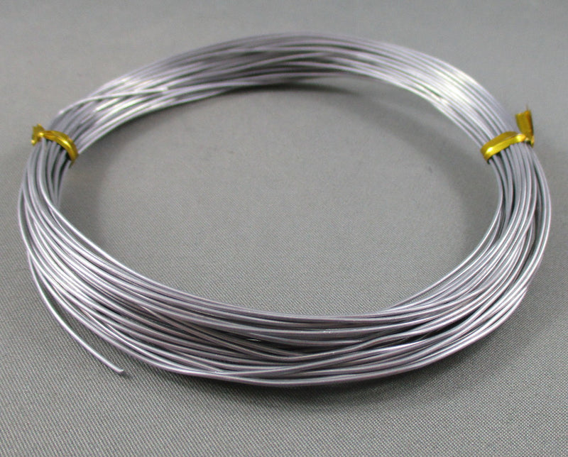 Aluminum Wire 20ga (0.8mm) Various Colors