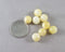 Yellow Calcite Loose Beads Round Various Sizes