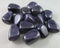 blue goldstone polished stones
