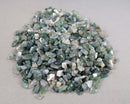Moss Agate Stone Chips (Undrilled) 55grams T380
