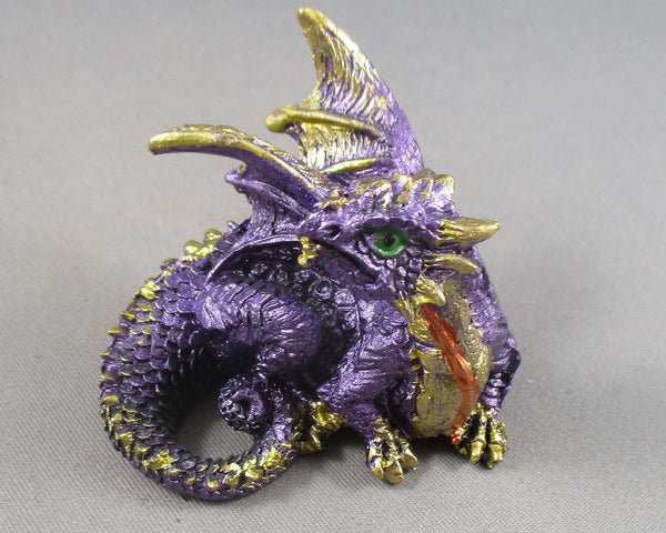 Baby Dragon - Purple Amethyst 1pc R226