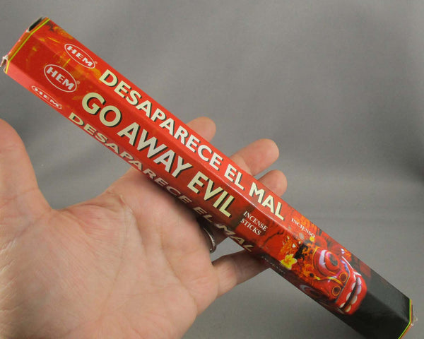 Go Away Evil HEM Stick Incense 20GR 1pk A177