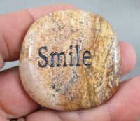 smile word stone picture jasper
