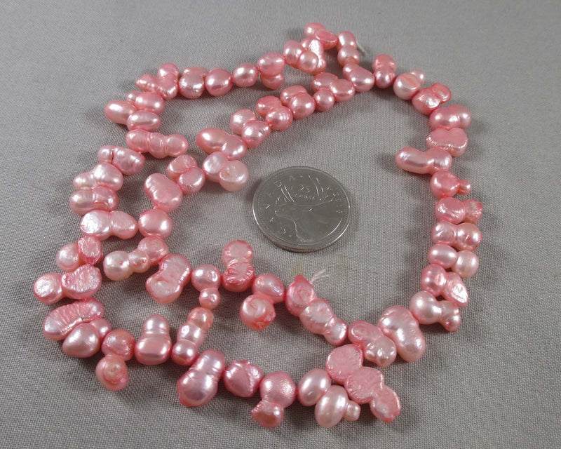 Rose Cultured Pearls 7mm (Z138)