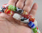 Multi Color Lampwork Glass Beads (Z171*)