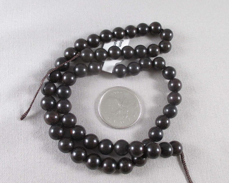 Ebony Wood Beads Various Sizes