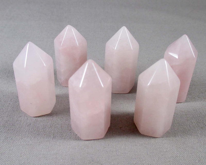 Rose Quartz Mini Standing Point 1pc 1124