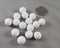 White Silicone Beads 12mm Round (Food Grade) 15pcs (Z216)