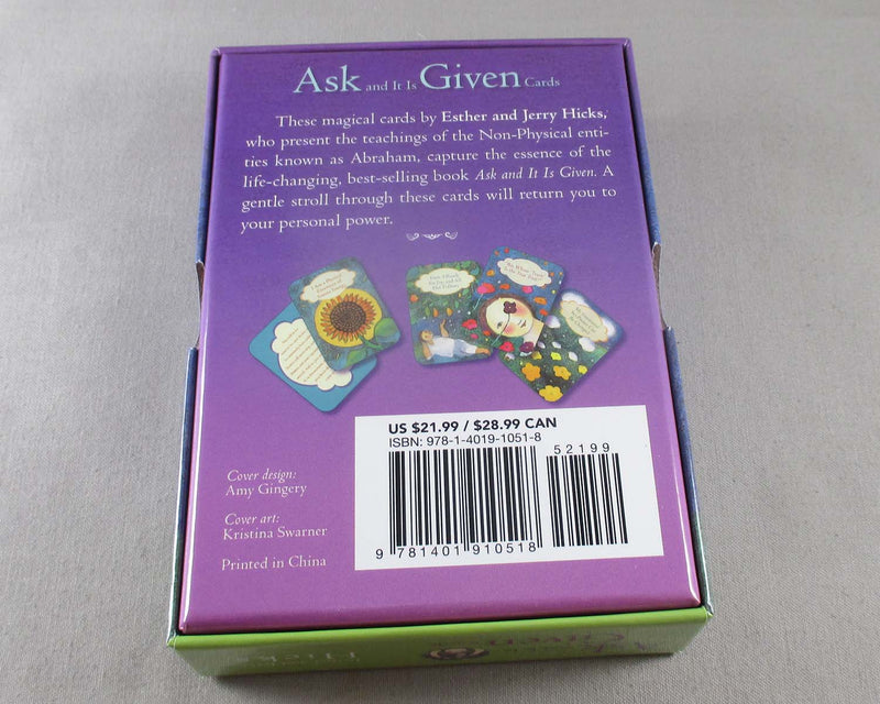 Ask and it is Given Cards - Jerry & Esther Hicks (N008)