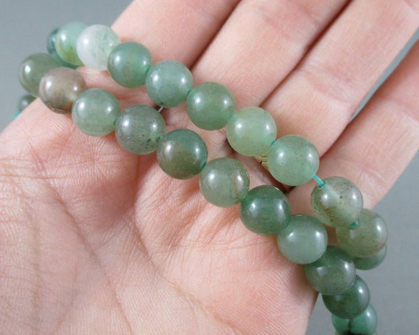 Aventurine Bead Strand Round Various Sizes