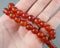 Carnelian Bead Strand Round Various Sizes