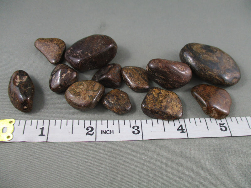 Axinite Polished Stones 5pcs T275