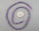 Amethyst Bead Strand Round Various Sizes