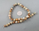 Picture Jasper Beads Round Various Sizes