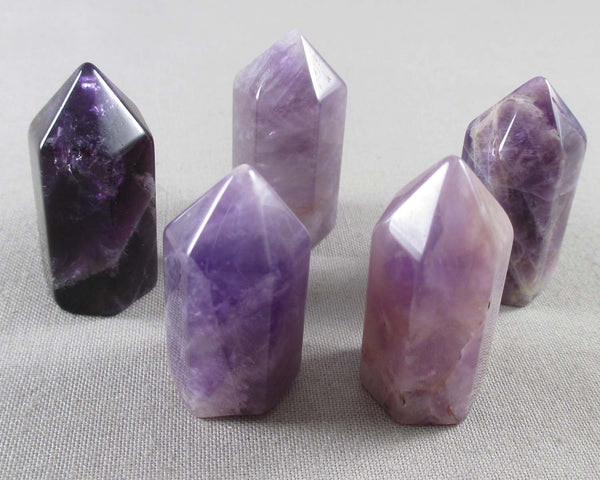 Amethyst Mini Standing Point 1pc (1158)