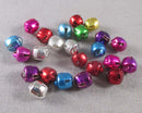 Mixed Color Jingle Bell Charms 24pcs (0840)