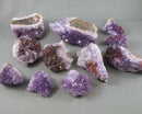 Thunder Bay Amethyst Crystal Cluster Raw 1pcs T227
