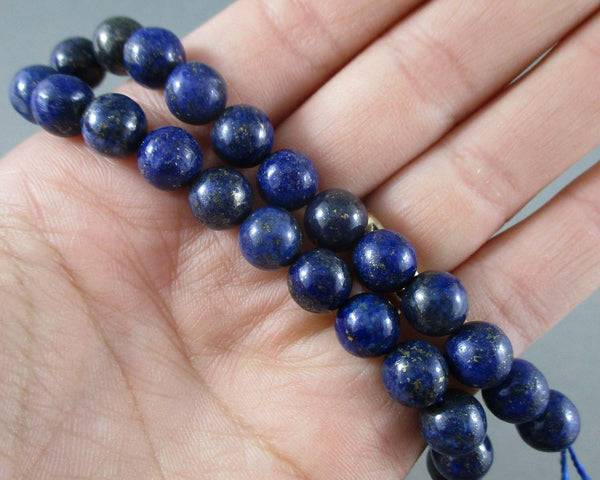 Lapis Lazuli Beads Round Various Sizes