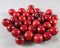 Red Wood Beads 12mm Round 50pcs (Z012*)