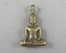 Buddha Charm Antique Bronze Tone 1pc (0345-1)