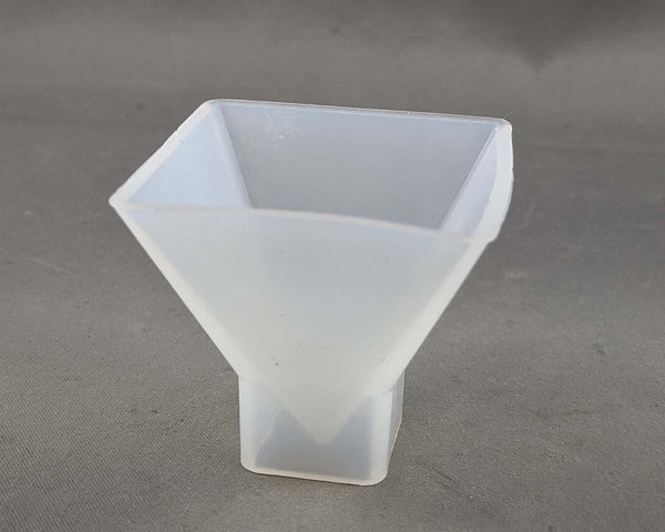 Silicone Resin Mold Pyramid 1pc (1566)