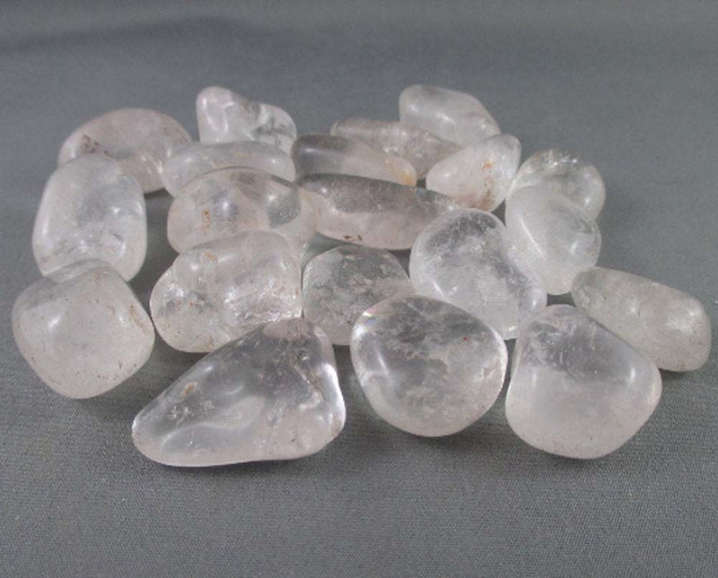 Clear Quartz Polished Stones 5pcs T012