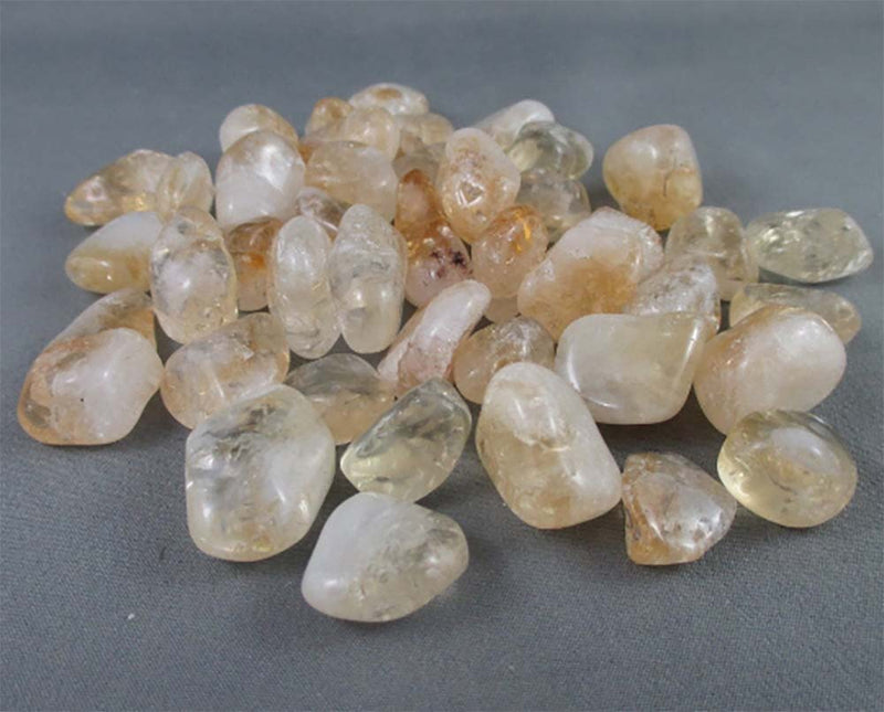 Citrine Polished Stones 5pcs T010