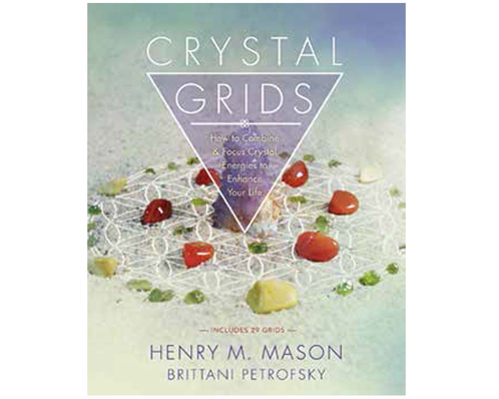 Crystal Grids Book - Henry Mason