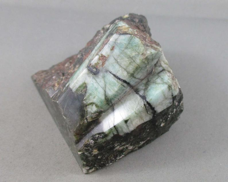 Large Emerald Stone Raw 1pc B094-6