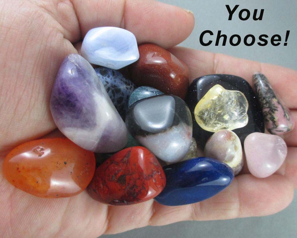 You Choose 10 Polished Healing Stones!