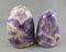 Amethyst Crystal Polished Stone Stand up 1pc A051