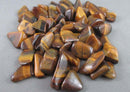 Tiger Eye Polished Stones 5pcs T027
